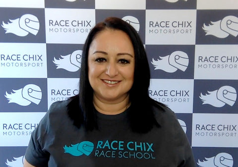 Interview with Rachelle Stirling founder of Race Chix Motorsports - ARNA Talks, podcast interview, discussion, women in sport, equality, women's work and laptop bags, women leaders, bold moves