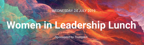 Women in leadership lunch at online retailer event 2019