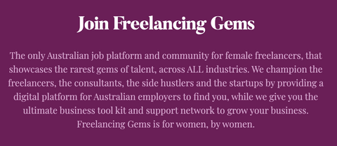 Fleur Madden founder and boss lady of freelancing gems interviews for ARNA Talks podcast, women leaders, work and laptop bags for women