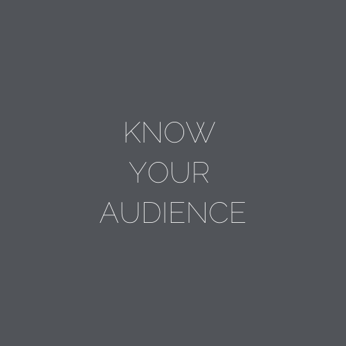 ARNA Keynotes Module 4: YOUR AUDIENCE