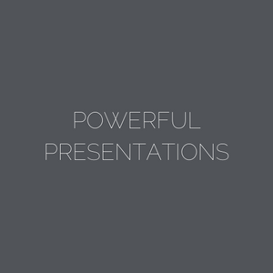 ARNA Keynotes Module 7: POWERFUL PRESENTATION