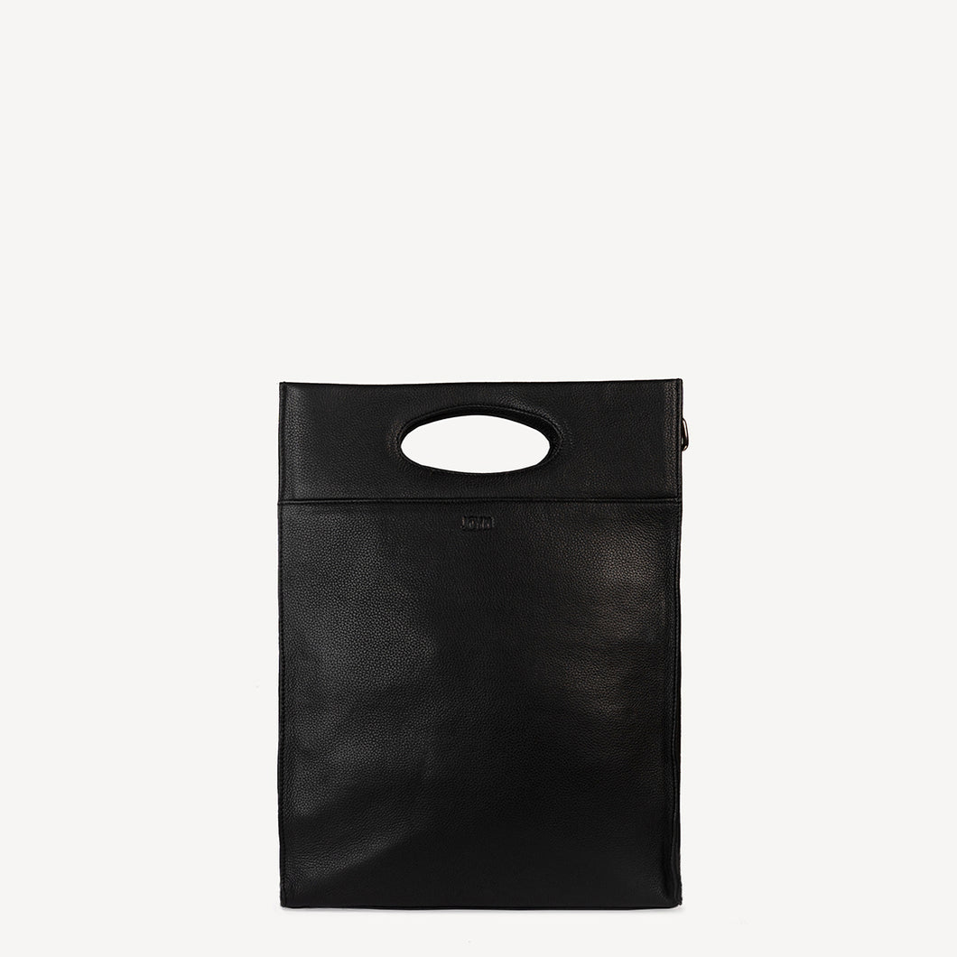 JOYN Black Boss Lady Tote
