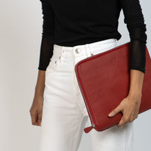 Load image into Gallery viewer, JOYN Red Leather Sleeve