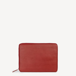 JOYN Red Leather Sleeve