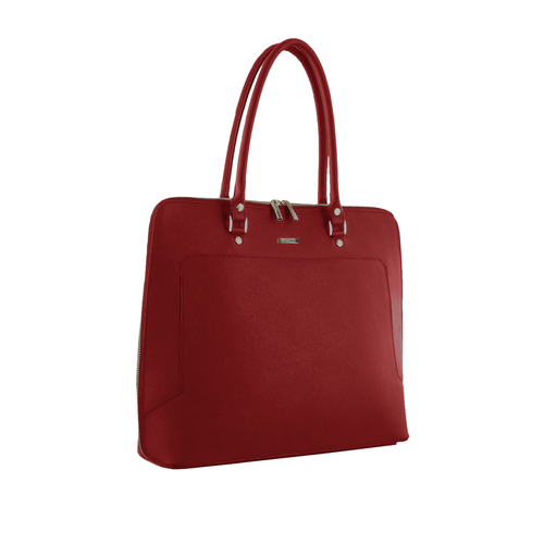 Red Laptop Tote