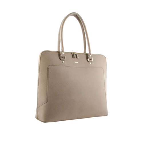 Taupe Laptop Tote