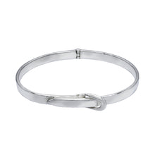 Load image into Gallery viewer, Adjustable Belt Silver Bracelet Bangle - Mon Bijoux