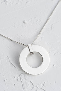 Catherine Sterling Silver Personalised Pendant