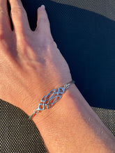 Load image into Gallery viewer, Celtic Sterling Silver Bangle - Mon Bijoux