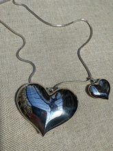 Load image into Gallery viewer, Large Puffy Love Heart Sterling Silver Pendant