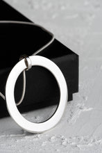 Load image into Gallery viewer, Claude Sterling Silver Personalised Pendant