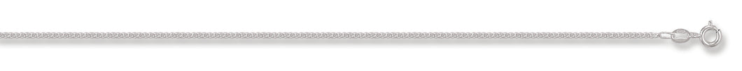 Sterling Silver Classic Curb Chain - Various Lengths