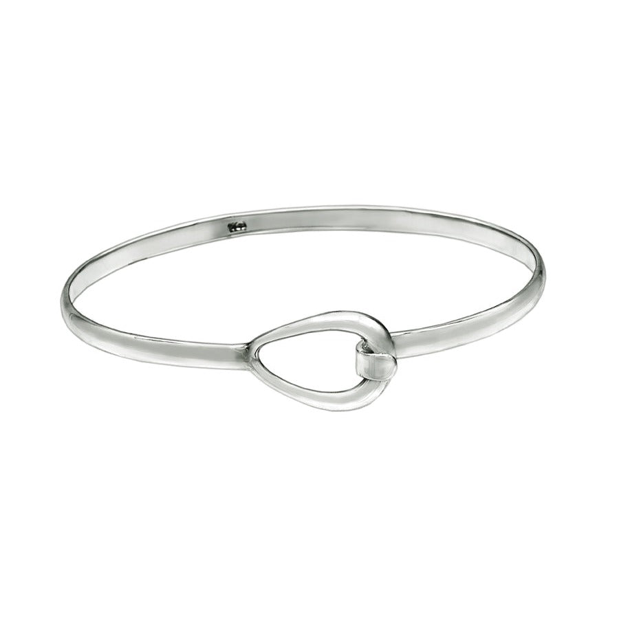 Teardrop Bangle - Small Wrist