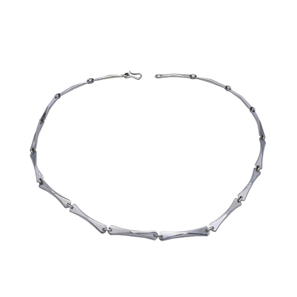 Stilts Sterling Silver Necklace - 50cm - Mon Bijoux