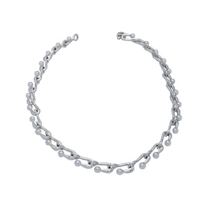 U Ball Sterling Silver Necklace - Mon Bijoux