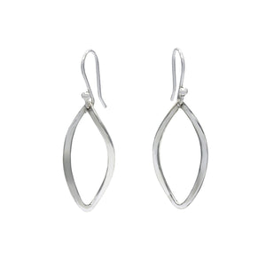 Dangle Open Sterling Silver Handmade Stud Earrings - Mon Bijoux - Mon Bijoux