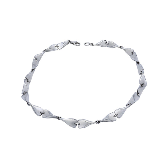 Flippers Sterling Silver Necklace - Mon Bijoux