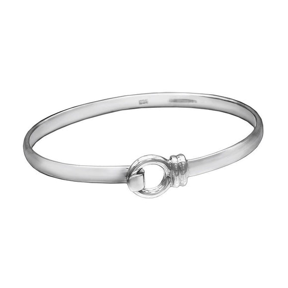 Heavy Licks Silver Bangle - Mon Bijoux