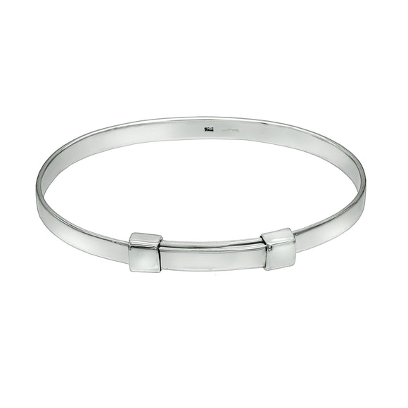 Double Buckle Unisex Bangle - Mon Bijoux