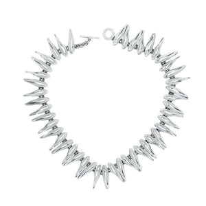 Tusks Sterling Silver Statement Necklace - Mon Bijoux - Mon Bijoux