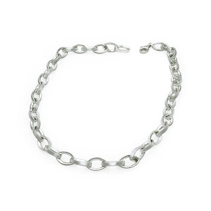 Figure of Eight Sterling Silver Handmade Necklace - Mon Bijoux - Mon Bijoux