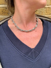Load image into Gallery viewer, Sterling Silver Spratling Peppercorn Necklace - Mon Bijoux