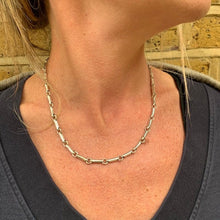 Load image into Gallery viewer, Dynamite Sterling Silver Chain Links Necklace - Mon Bijoux