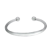 Load image into Gallery viewer, Sterling Silver Bracelet - Surfer Cuff Bangle - Mon Bijoux