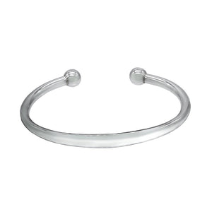 Sterling Silver Bracelet - Surfer Cuff Bangle - Mon Bijoux