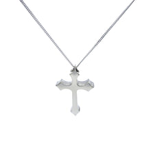 Load image into Gallery viewer, Large German Inspired Iron Cross Silver Pendant - Mon Bijoux - Mon Bijoux