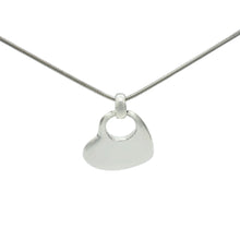 Load image into Gallery viewer, Large Solid Sterling Silver Heart Pendant - Mon Bijoux - Mon Bijoux