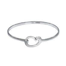 Load image into Gallery viewer, Mother and Baby Sterling Silver Bracelet Bangle - Mon Bijoux - Mon Bijoux