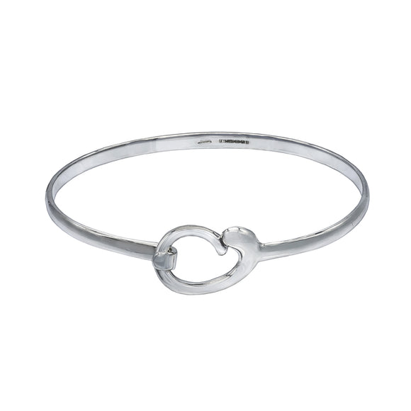 Mother and Baby Sterling Silver Bracelet Bangle - Mon Bijoux - Mon Bijoux