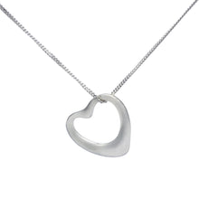 Load image into Gallery viewer, Small Hollow Heart Sterling Silver Necklace, Bangle and Earrings Set - Mon Bijoux - Mon Bijoux