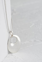 Load image into Gallery viewer, Flower Sterling Silver Danish Design Pendant