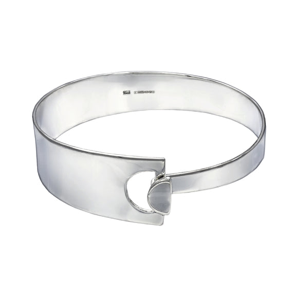 Wide Rectangle With Hole Bracelet - Mon Bijoux