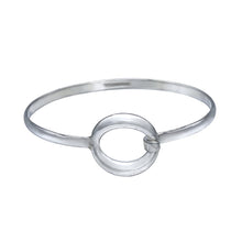 Load image into Gallery viewer, Zero Silver Bracelet Bangle - Mon Bijoux