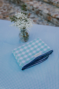 Mint & Klein Gingham LC Tablecloth