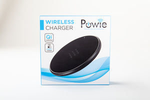 Powie Wireless Charger - Powie.se Powie.se, Trådlös laddare, wireless charger, iphone, apple, X, Samsung, S6, S7, S8, S9, Huawei, Airpower, Qi, Sony, laddning, snabbladdning, fast charge, charging, köp, Nexus, iPhone 8, iPhone 8 plus, Xr, Xs, prisjakt mophie, QI teknik, smartphone, sladdar, sladd,  laddare