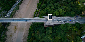 Bristol Suspensioon Bridge by Drone
