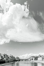 Load image into Gallery viewer, 'Under the Florentine clouds' (b&w)