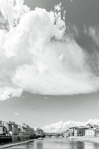'Under the Florentine clouds' (b&w)