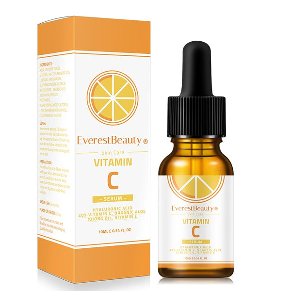 Vitamin C serum with Hyaluronic Acid Suitable for Anit Ageing/Wrinke Face Care 10ml