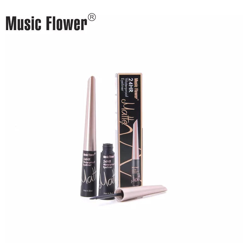 Eyeliner Waterproof 24 Hours Black Liquid Eye Liner Pencil Pen Make Up Beauty