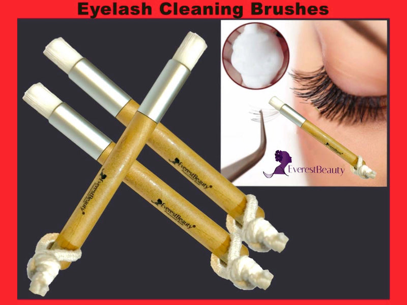 Lash Extension Clean Cleaning Cleanser Pro Brush Eyelash Extensions Durable New