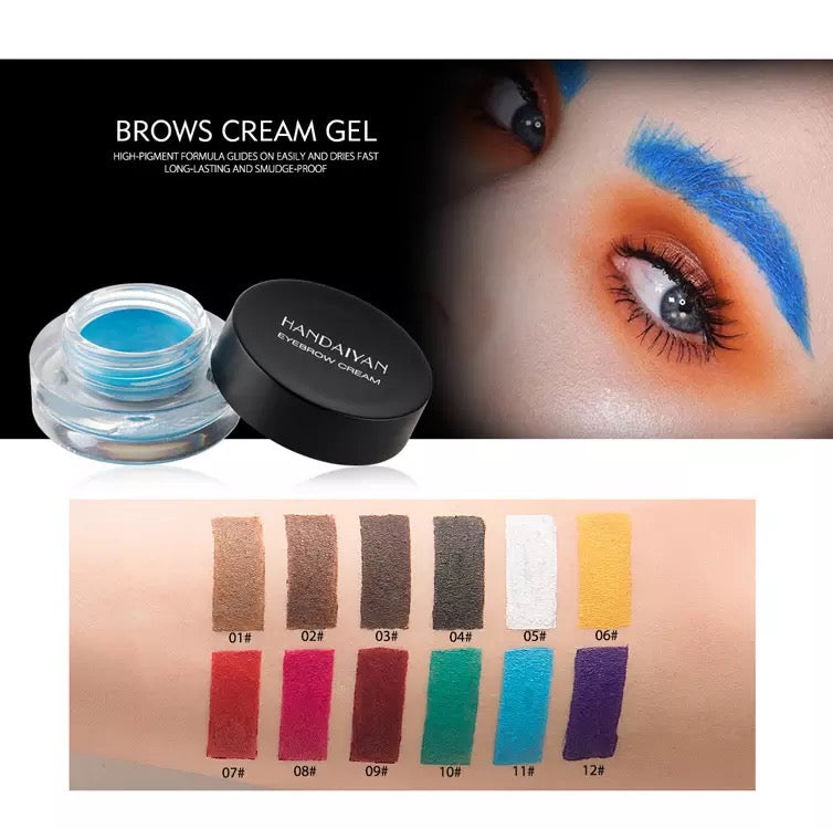 High Quality Dipbrow Eyebrow Pomade Eye Brow Makeup Duo Brush