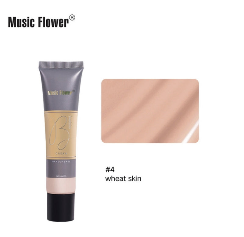 Music FlowerⓇ Foundation Concealer Full Coverage Makeup Matte Brighten