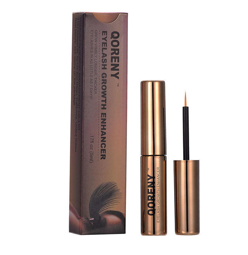 QORENY Eyelash Enhancer Growth/Thicker Serum-5ml/100% Genuine
