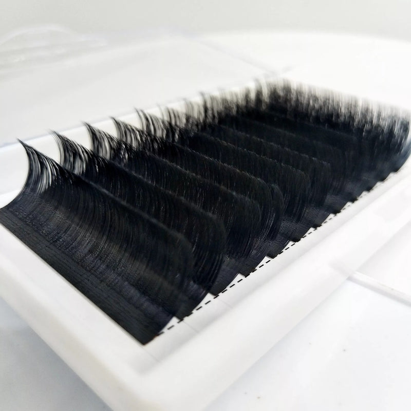 Individual Classic Luxury Volume Eyelash Extensions Curl C D length 10-15mm