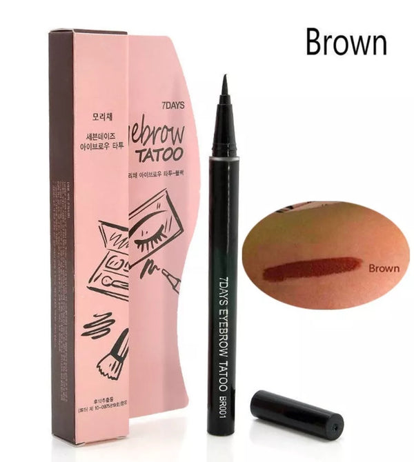 7 Days Eyebrow Tattoo Pen Liner Long Lasting Makeup Cosmetic Tool